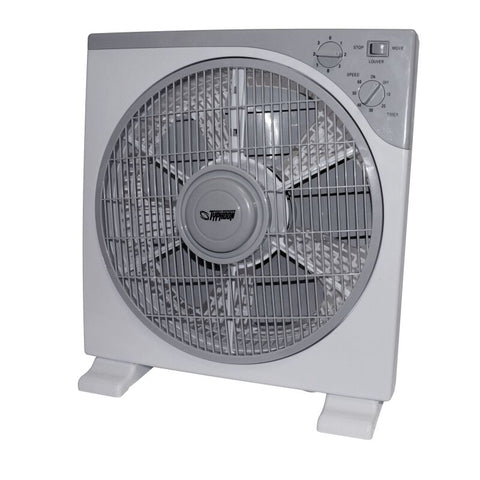 TYPHOON Box ventilator 30 cm / 3 hastigheder + timer