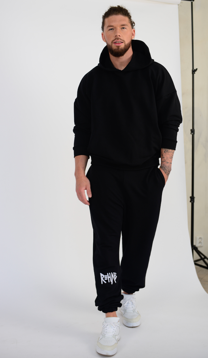 2020 SWEATPANTS BLACK / MINIMAL