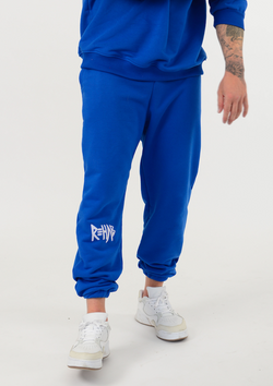 SS20 SWEATPANTS BLUE / MINIMAL