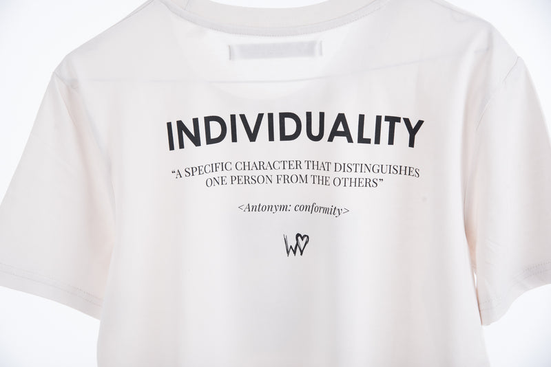 REHAB IS INDIVIDUALITY TEE