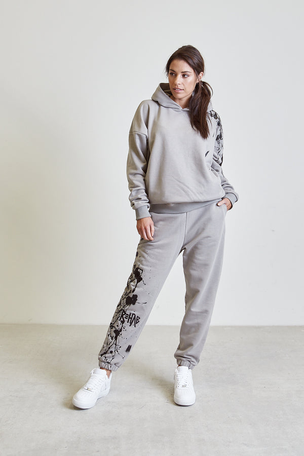 AW20 SWEATPANTS TAUPE | PAINTED