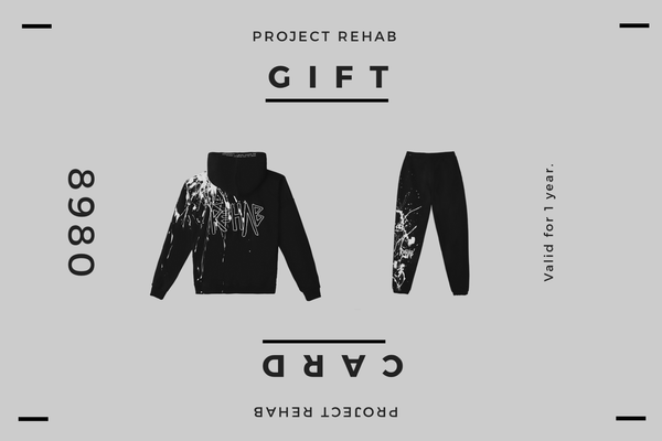 SHARE LOVE: REHAB GIFT CARD
