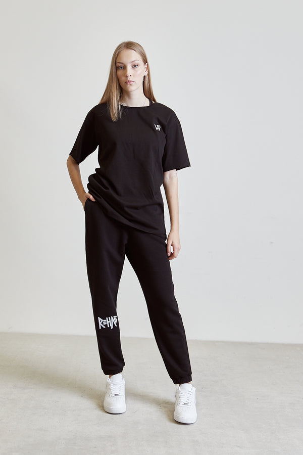 AW20 SWEATPANTS BLACK | MINIMAL