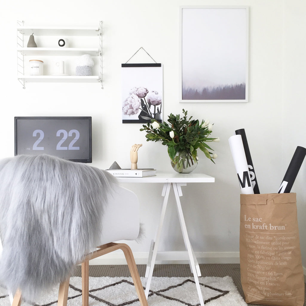 Guest Blog: How to Style a Scandinavian Office Space by @myhomestyle89
