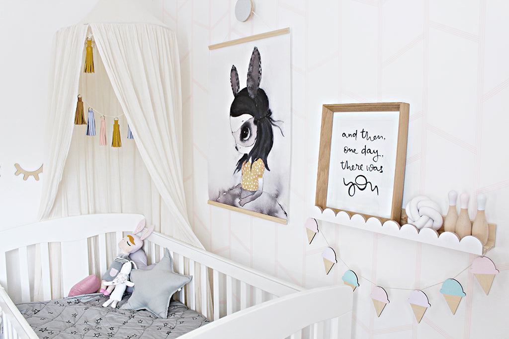 DIY Scandi Nursery