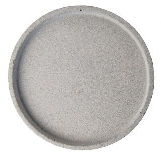 Zakkia Grey Round Tray | Immy and Indi