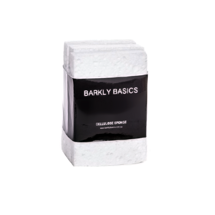 Barkly Basics All White Sponge - 3 Pack