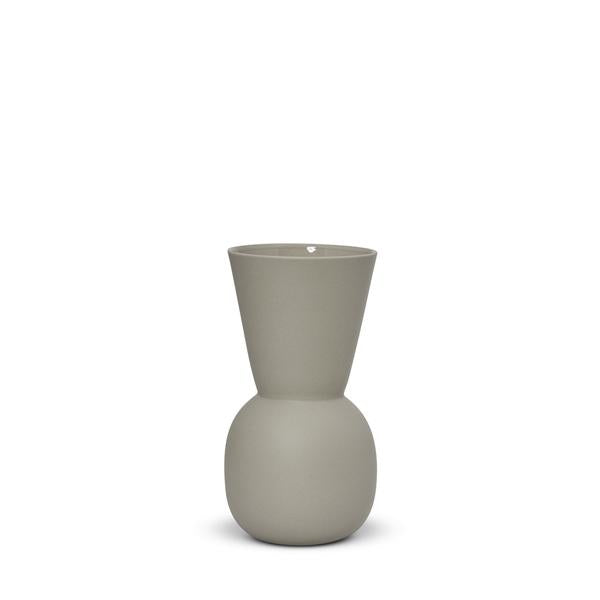 Cloud Bell Vase - Dove Grey | Small