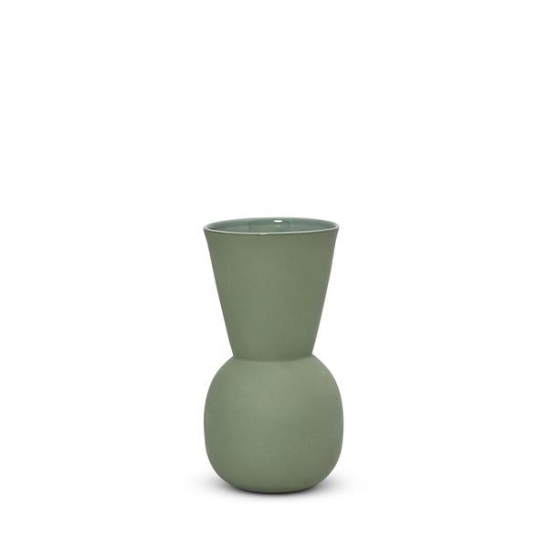 Cloud Bell Vase - Moss Green | Small