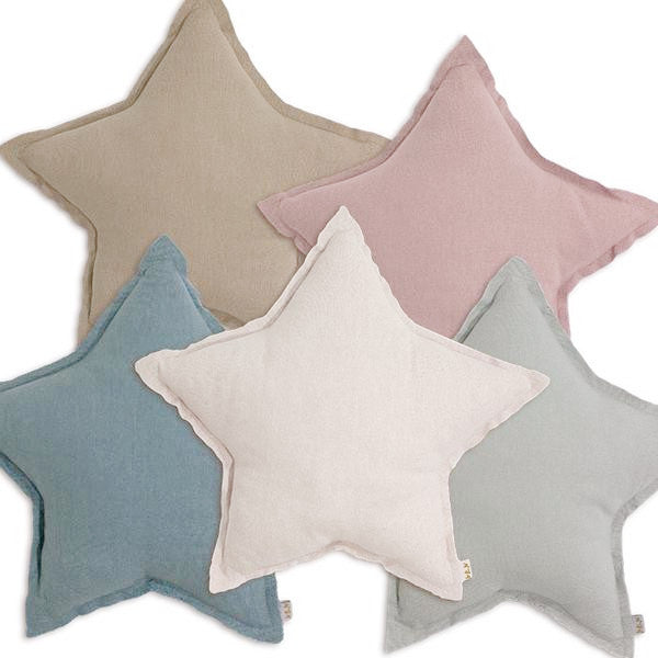 Numero 74 Star Cushion Beige