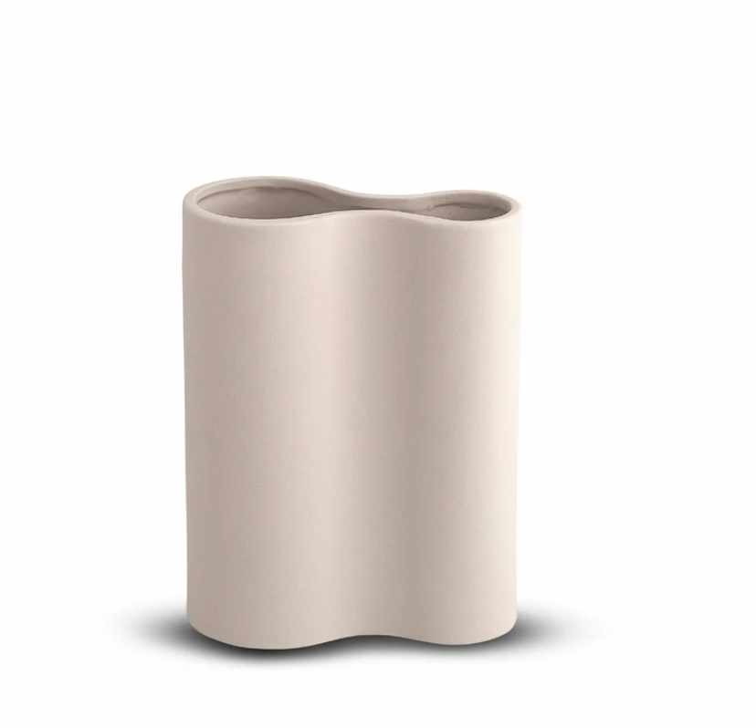 Smooth Infinity Vase | Small | Nude