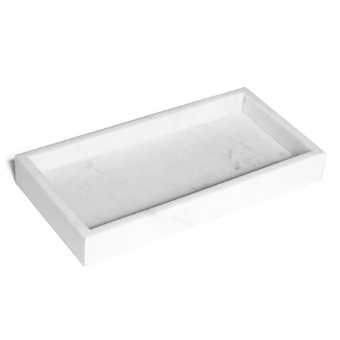 Marble Rectangular Tray - 30cm