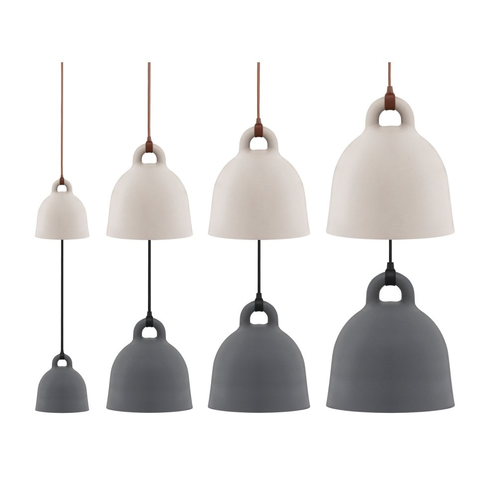 Bell Lamp - Grey - Small