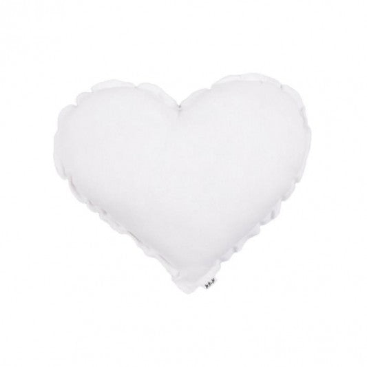 Numero 74 Heart Cushion White