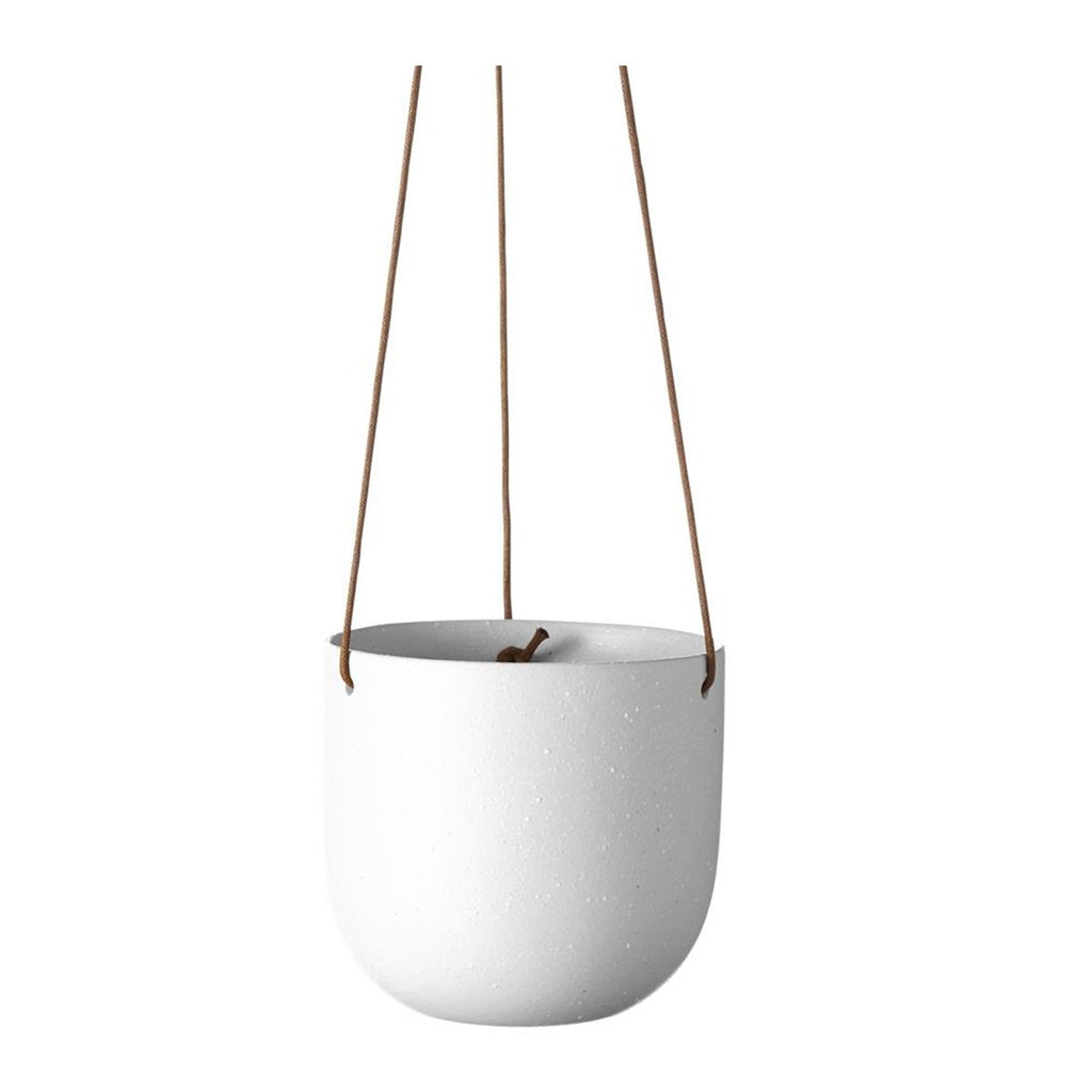 Cade Hanging Pot | Soft White