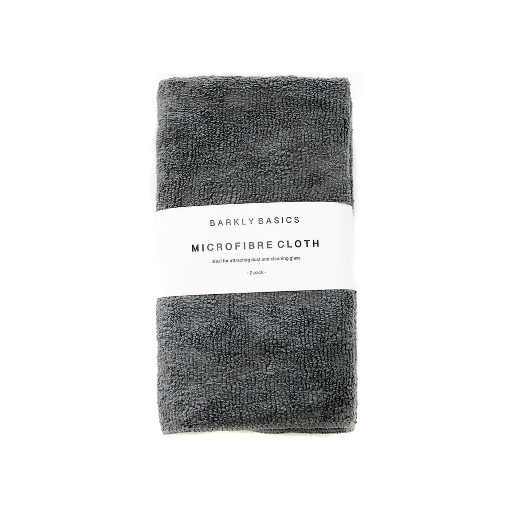 Barkly Basics Grey Microfibre Cloth (2 Pack)