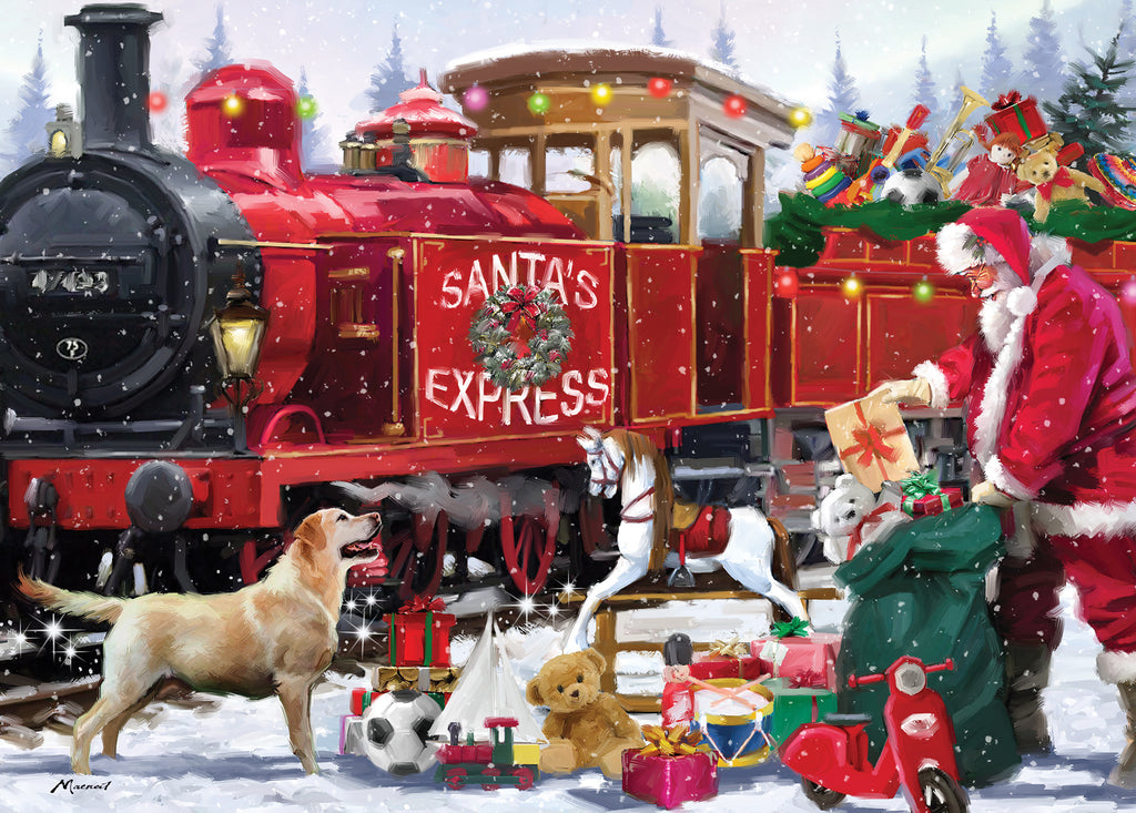New! Jigsaw Santa Express - 1000