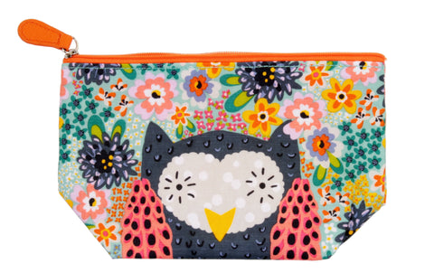 NEW!  Owl Cosmetic Bag