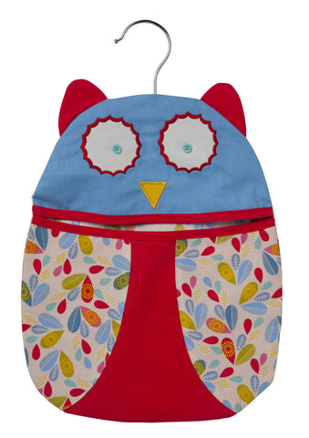 NEW!  Owl Shaped Handy Bag