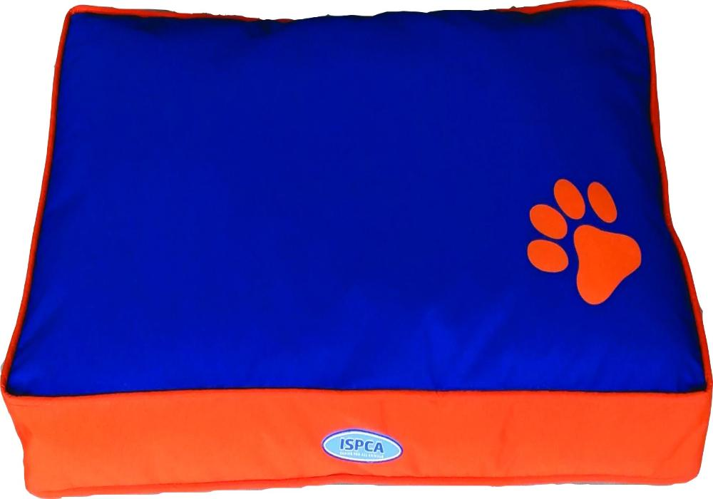 ISPCA Pet Cushion Blue/Orange (Sm/Me/Lg)