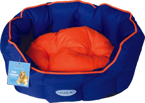 ISPCA Pet Bed - Blue/Orange (4 sizes)