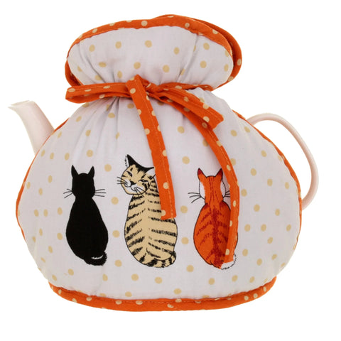 NEW! Cats in waiting Tea Cosy