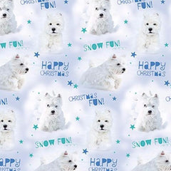 Giftwrap - Winter Wonderland Westie