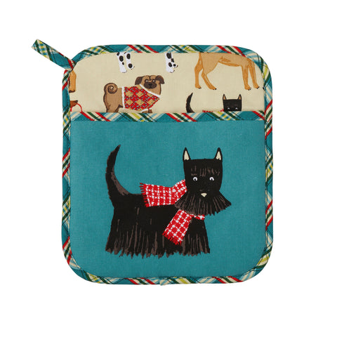 New! Hound Dog Pot Mitt