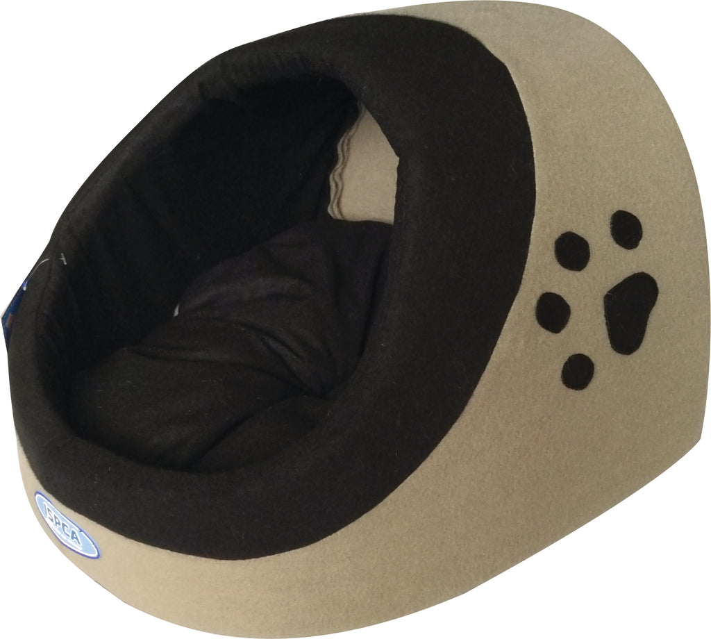New! ISPCA Hooded Cat Bed
