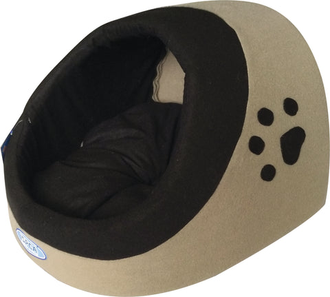 ISPCA Hooded Cat Bed (2 sizes)