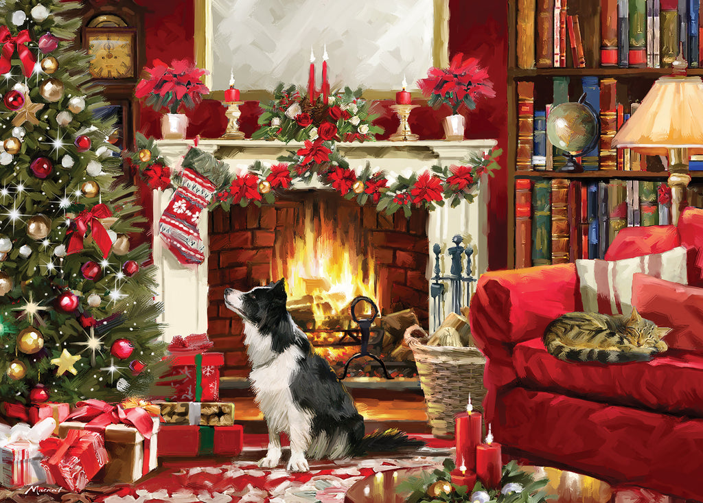 NEW! Jigsaw Festive Fireside