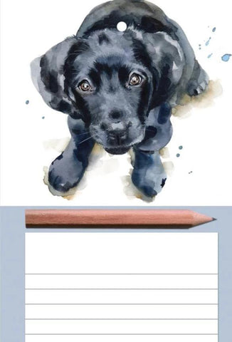 New! Magnetic Memo Pad - Dog