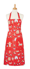NEW! Festive Friends Cotton Apron