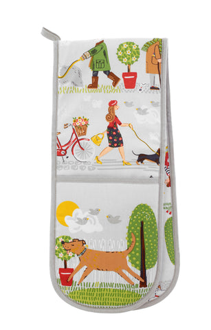 NEW! Walkies Double Oven Glove