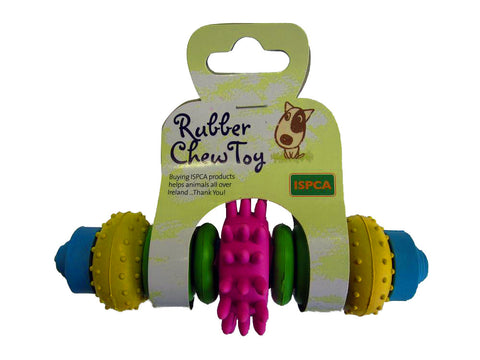 ISPCA Pet Rubber Toy