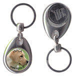 Shopping Trolley Key Ring
