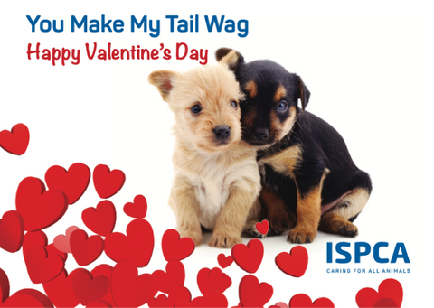 Valentine eCard – You Make My Tail Wag