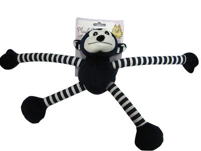 ISPCA Plush Dog Toy with moveable arms