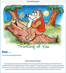 Don Conroy Thinking of You Card