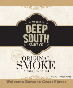 Original Smoke Barbecue Sauce 12oz Bottle