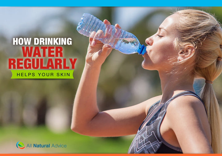How Drinking Water Regularly Helps Your Skin