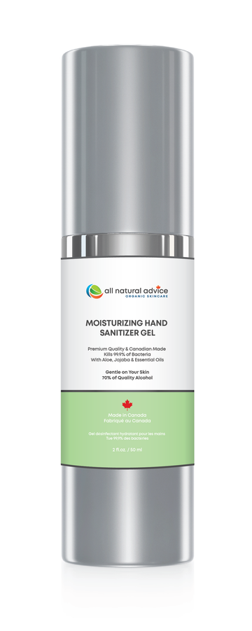 Advanced Hand Santizier - Kills 99.9% of Germs while Mositurzing Your Hands - 60 ml / 2 oz bottle