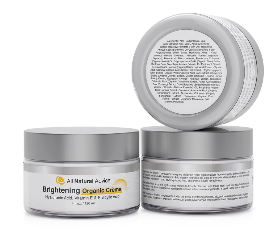 Brightening CREAM with Hyaluronic & Kojic Acid