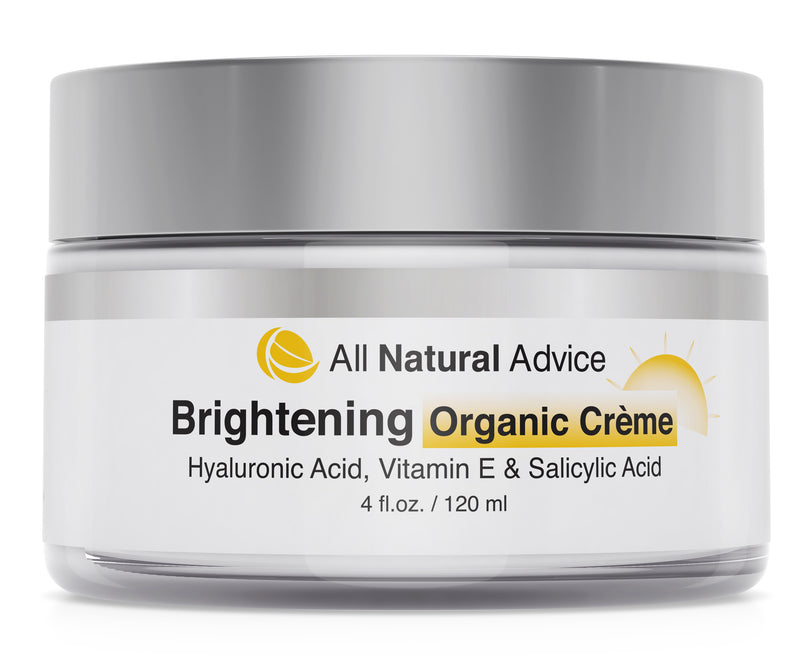 All Natural Advice Brightening CREAM with Hyaluronic & Kojic Acid