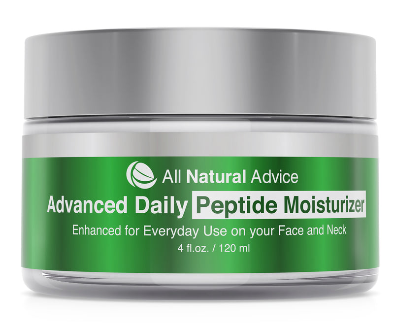 All Natural Advice Daily Moisturizer with Peptide and Hyaluronic Acid