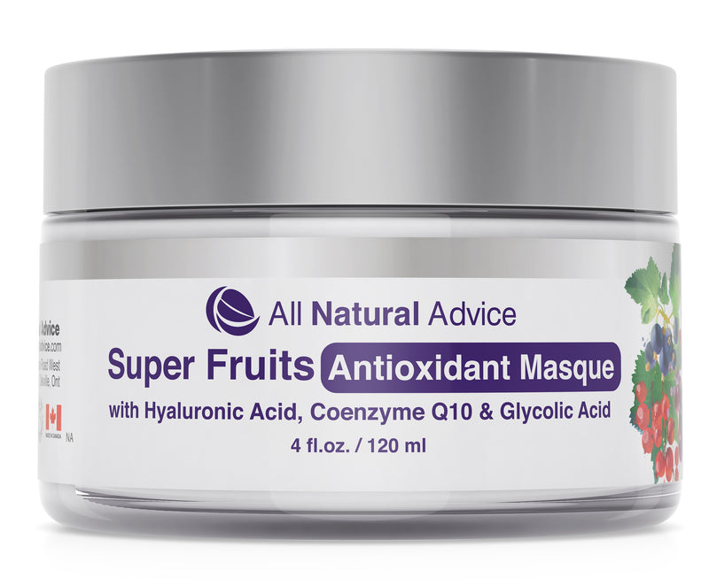 All Natural Advice Super Fruits Antioxidant Masque Cleansing Facial Mask