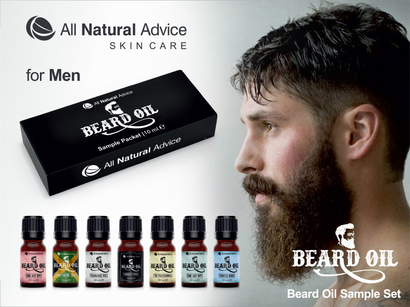 Beard Oil Complete Set - & of our Top Selling Beard Oils