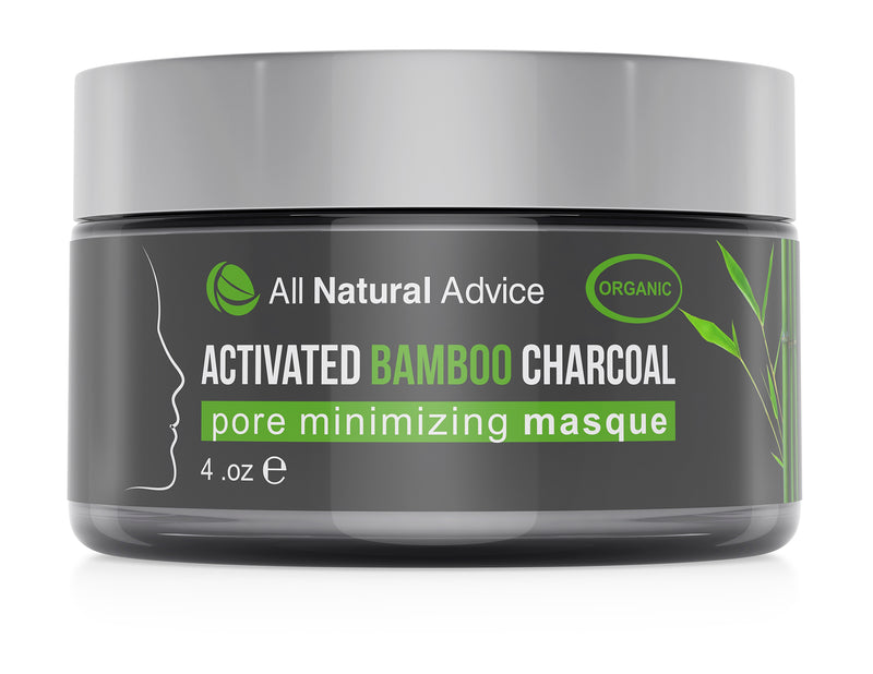 All Natural Advice Activated Charcoal Bamboo Face Mask