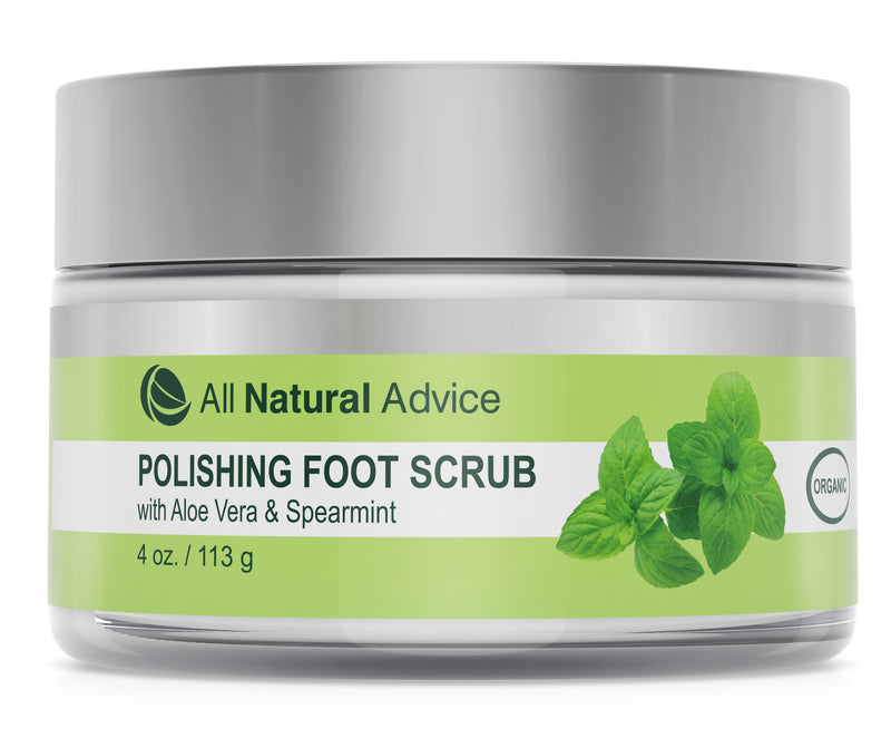 All Natural Advice Foot Scrub Polisher with Pumice and Aloe
