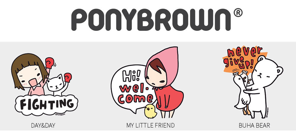 Licensing Pony Brown